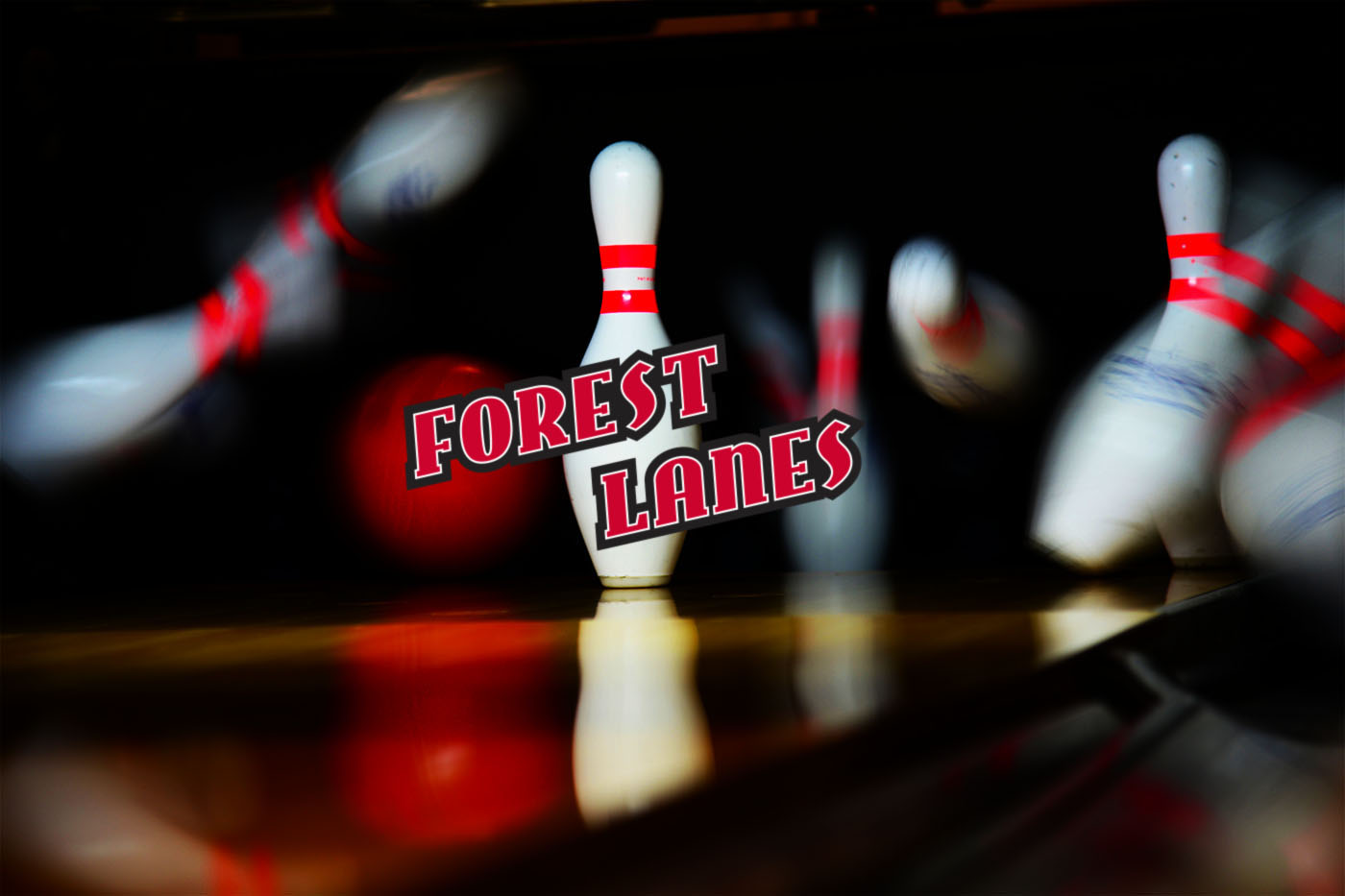 Forest Lanes pins