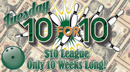 Tuesday 10 for 10 logo