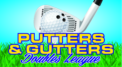 Putters and Gutter logo